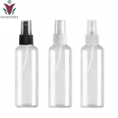 12pcs/lot 100ml PET empty mist spray bottle container, plastic refillable perfume atomizer bottle for cosmetic packaging