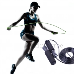 Speed Skipping Jump Rope Adjustable Sports Lose Weight Exercise Gym Crossfit Fitness Equipment