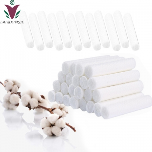 Free shipping 100pcs/lot Aromatherapy Essential Oil Cotton Wicks for Nasal Inhaler Sticks